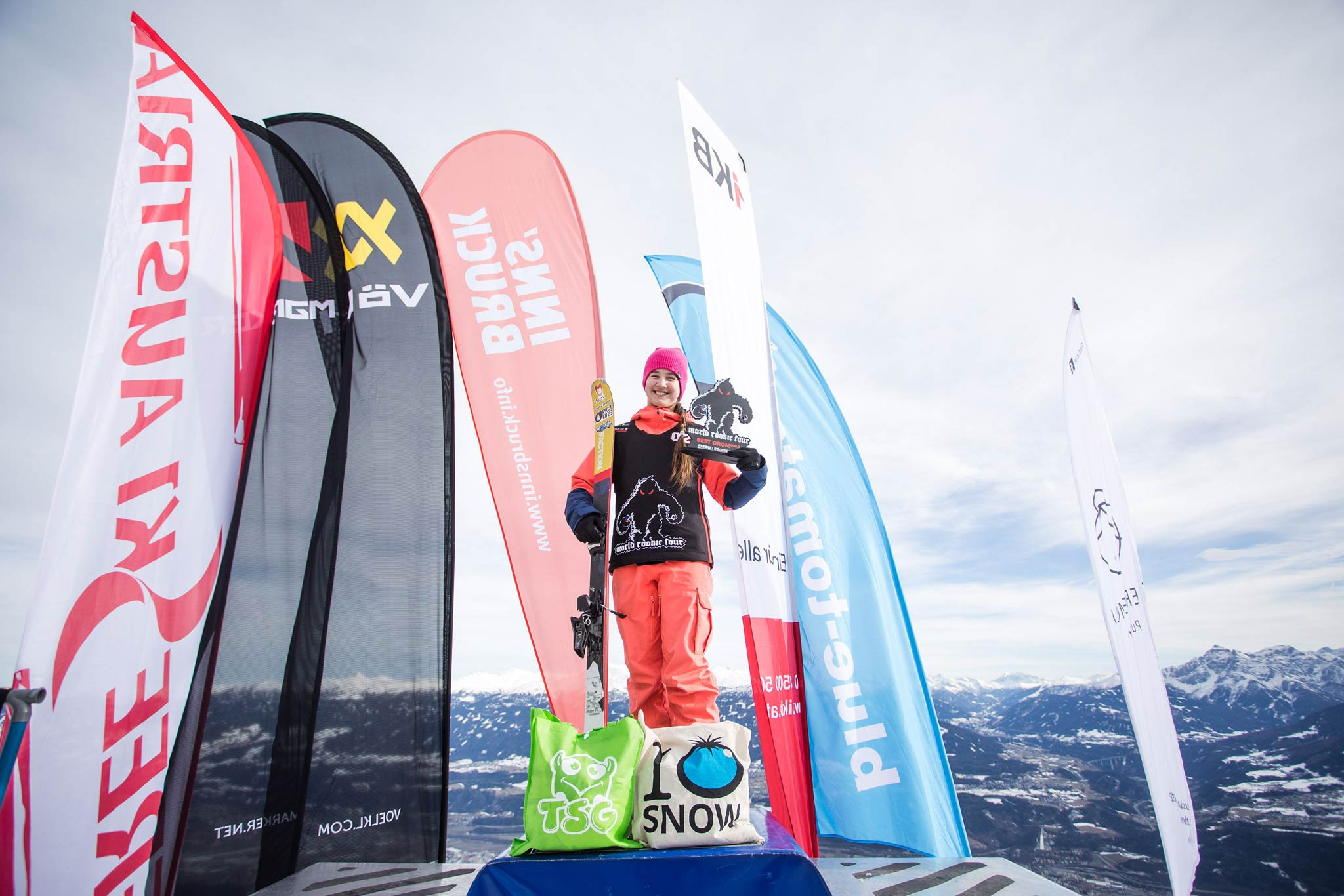 Die Gewinnerin bei den Grom Girls (U16): Ksenia Orlova aus Russland - Foto: Simon Rainer