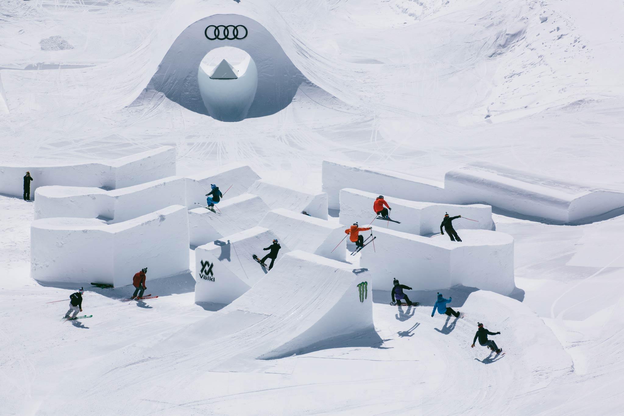 Seit 2013 sind auch die Snowboarder bei dem Event mit dabei - Foto: Distillery / David Malacrida