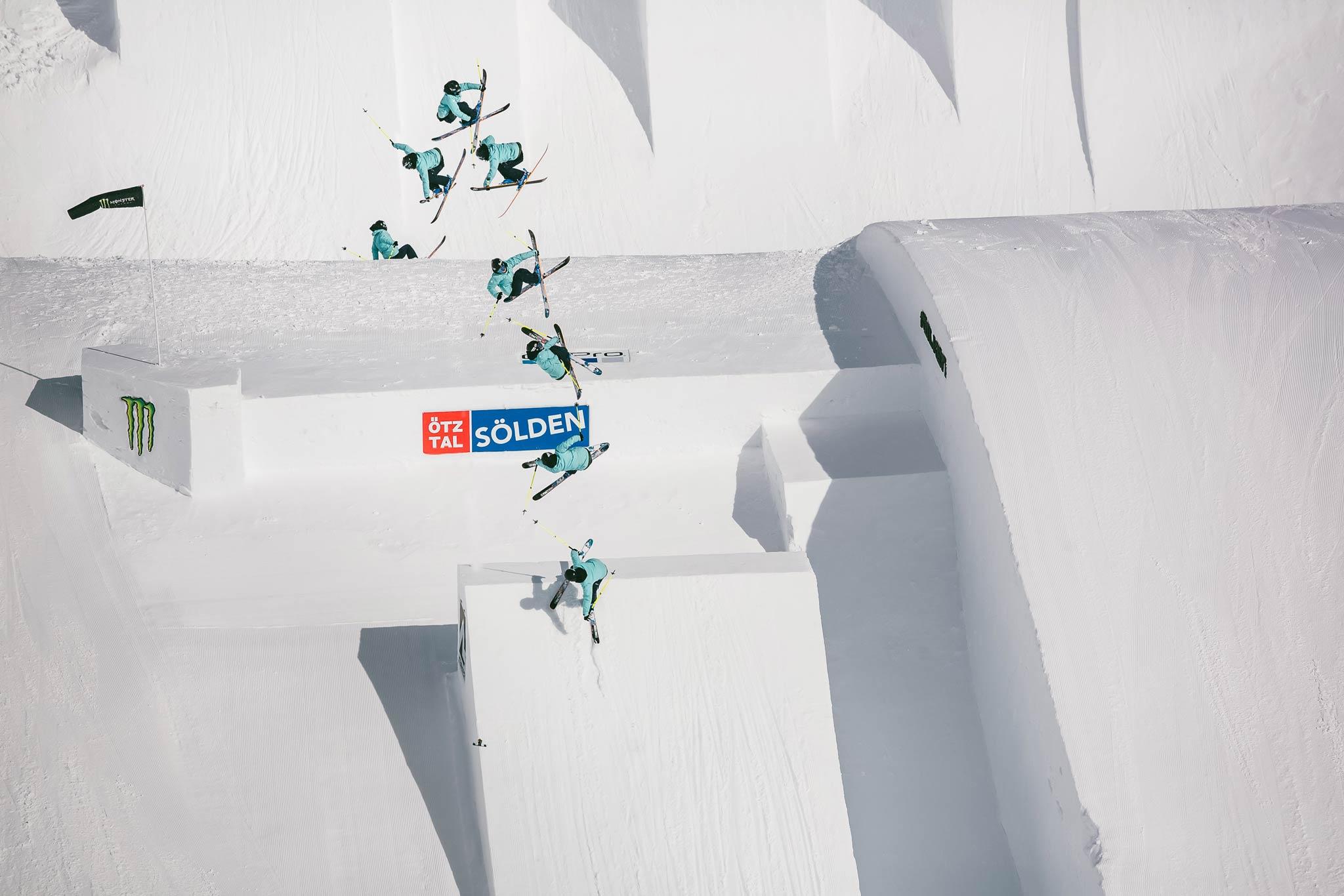Das erste Nine Queens Event fand im Jahr 2011 statt, mittlerweile sind alle Fahrer, egal ob auf Ski oder Snowboard, Mann oder Frau, bei den Audi Nines mit dabei - Rider: Sarah Hoefflin - Foto: Distillery / David Malacrida