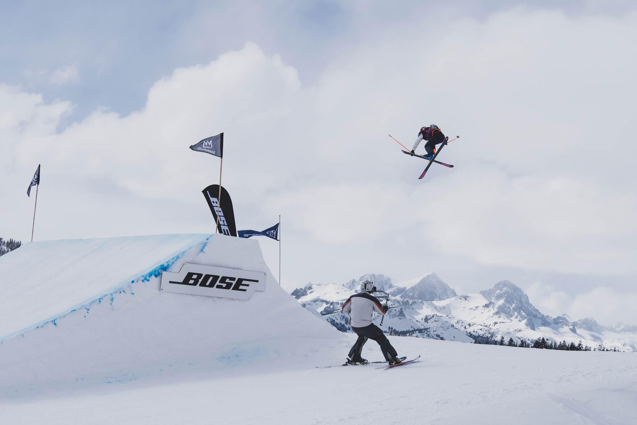 Nach mehrmaligen Verschiebungen konnte der vierte Slopestyle World Cup der Saison 18/19 am gestrigen Sonntag erfolgreich durchgeführt werden - Foto: FIS Freestyle