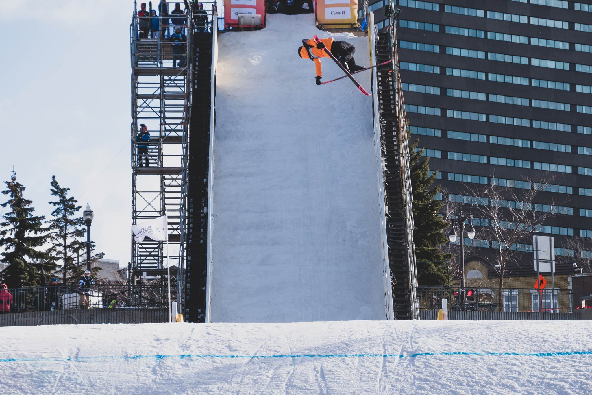 FIS Freestyle Big Air World Cup 18/19 #3: Quebec City (CAN) - Müllauer siegt, Kühnel wird Zweite - Rider: Kea Kühnel (GER) - Foto: FIS Freestyle