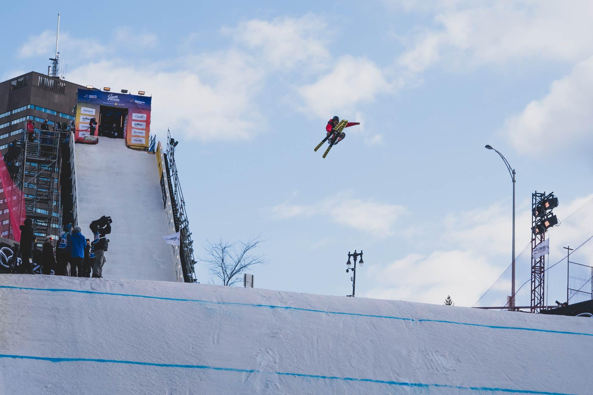 Rider: Kai Mahler - Foto: FIS Freestyle