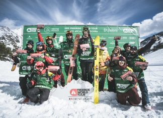 Freeride World Tour 2019 #4: Andorra - Léo Slemett & Jaclyn Paaso holen den Sieg! - Foto: freerideworldtour.com / M. Knoll