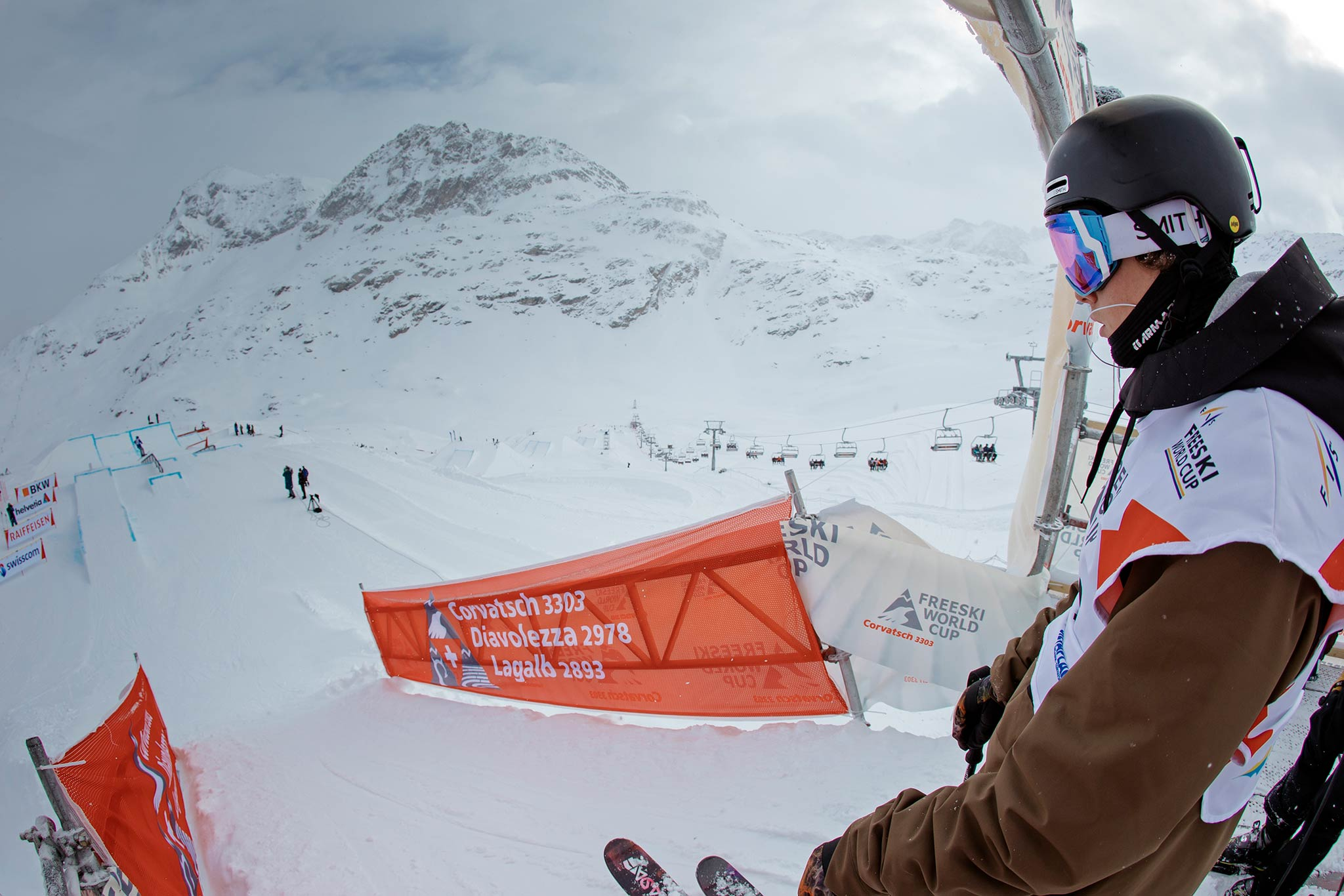 FIS Freestyle Slopestyle World Cup 18/19 #5: Corvatsch