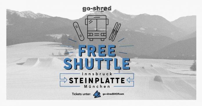 Snowpark Steinplatte: Free Shuttle - go-shred