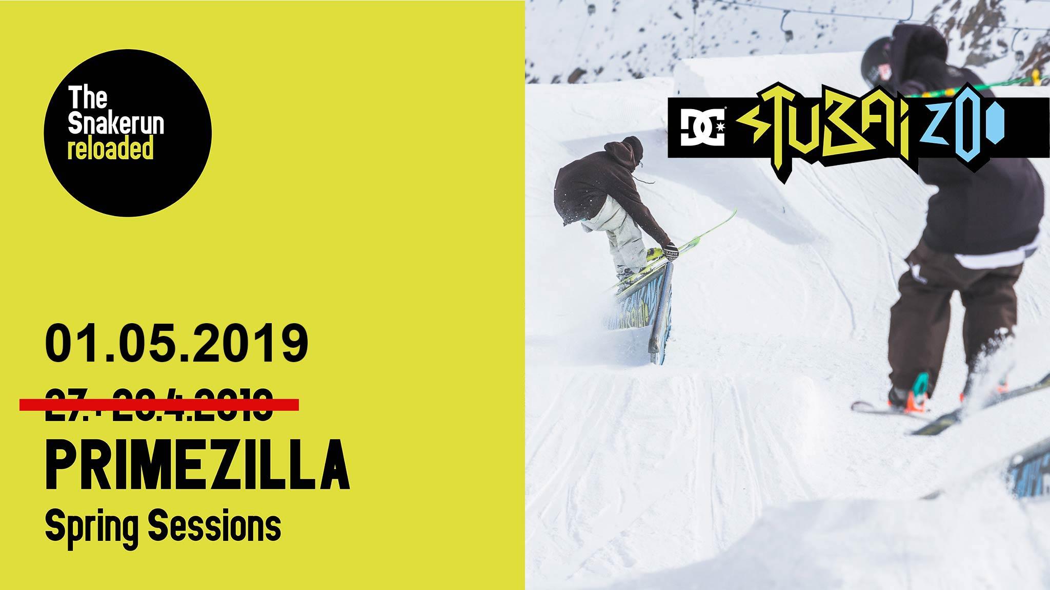 Primezilla Cashout Spring Session 2019 im Stubai Zoo - UPDATE