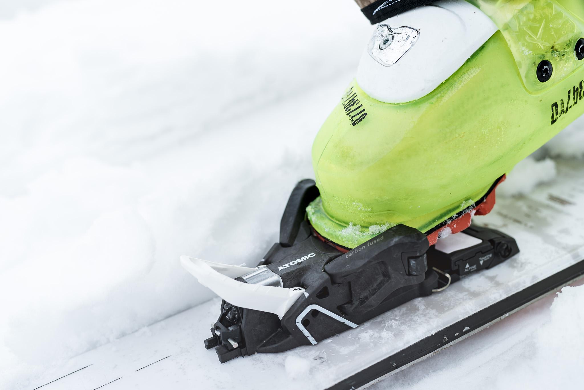 Die Shift MNC besitzt eine Elastizität von 47mm am Vorderbacken sowie 9mm am Hinterbacken.
