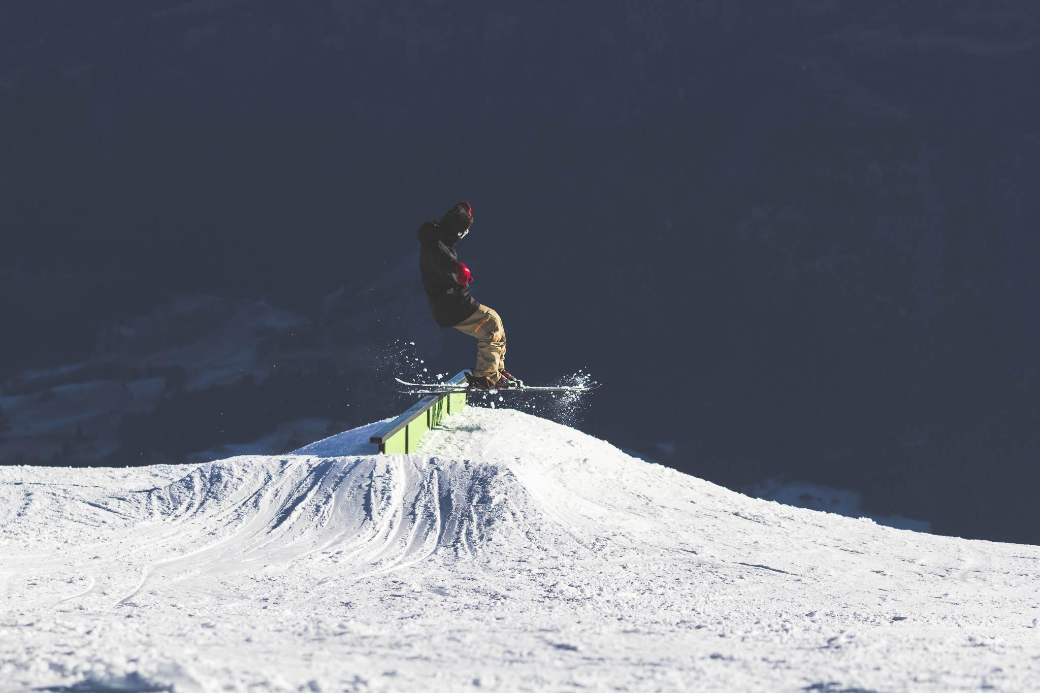 Location: Snowpark LAAX - Foto: Jörg Angeli