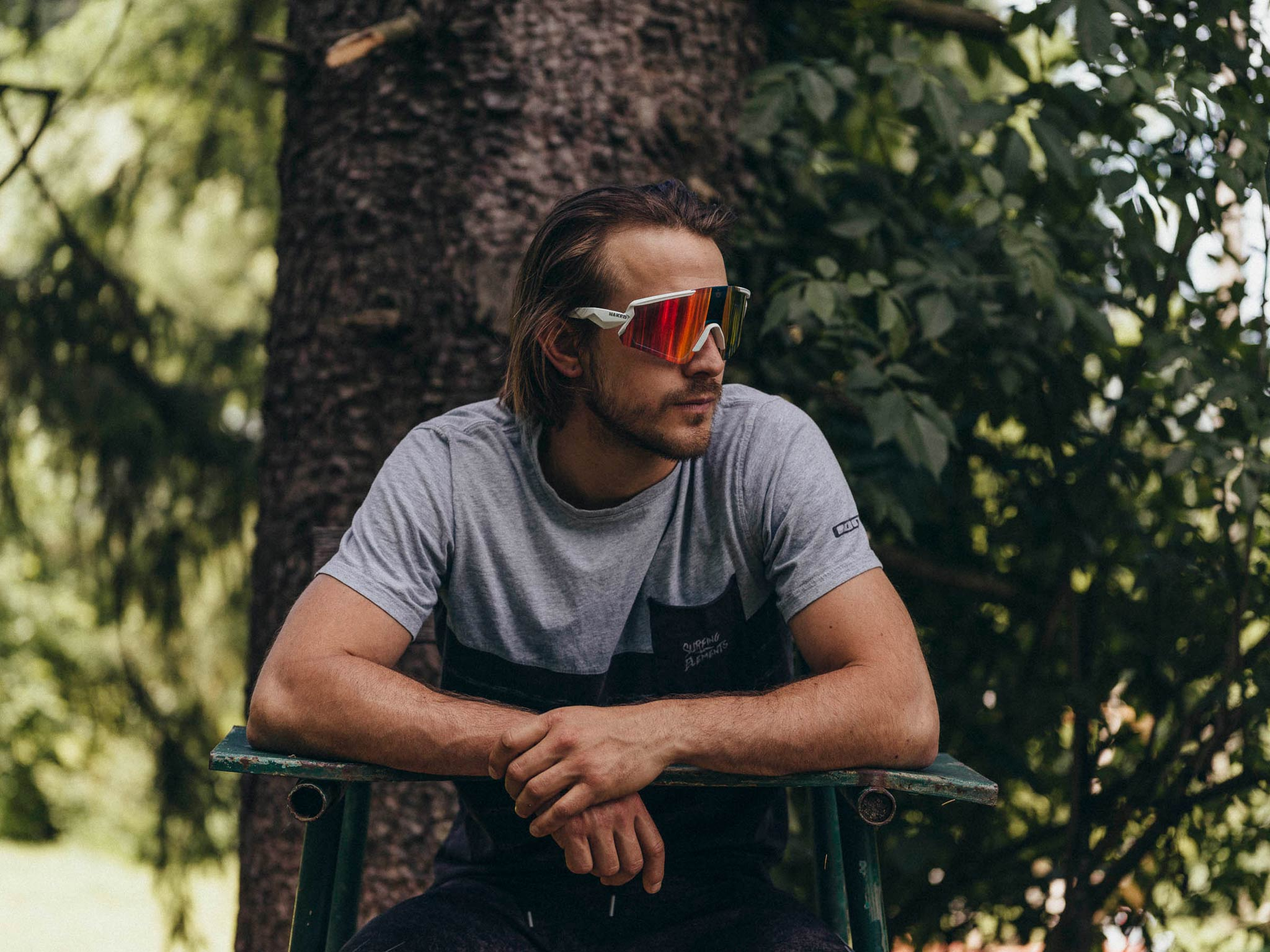 """""""Eine Brille für alle Sportarten"""": Naked Optics startet neues Kickstarter Projekt - Model: Stevie Schneider - Foto: Frank Wimmer"""