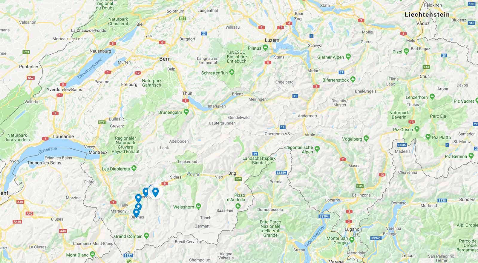 Übersicht: Die Gebiete der 4 Vallée Ski Saisonkarte 2019/2020