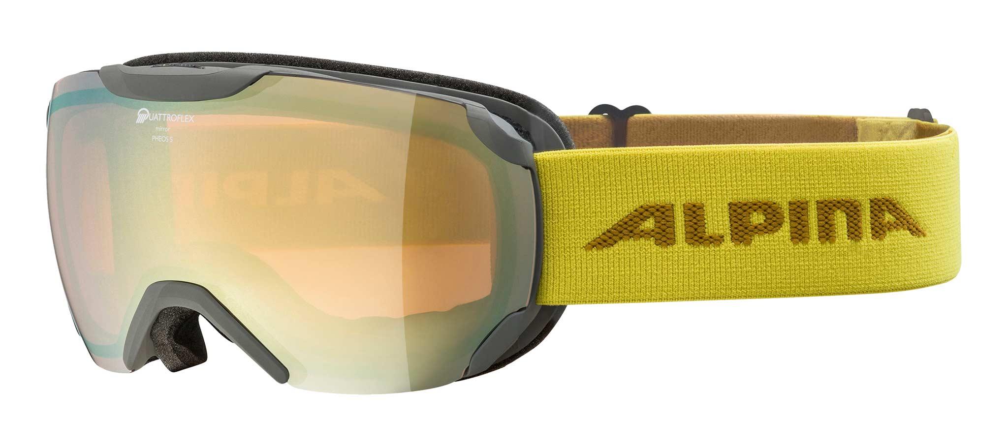 Alpina PheoS S QHM Skibrille 2019/2020
