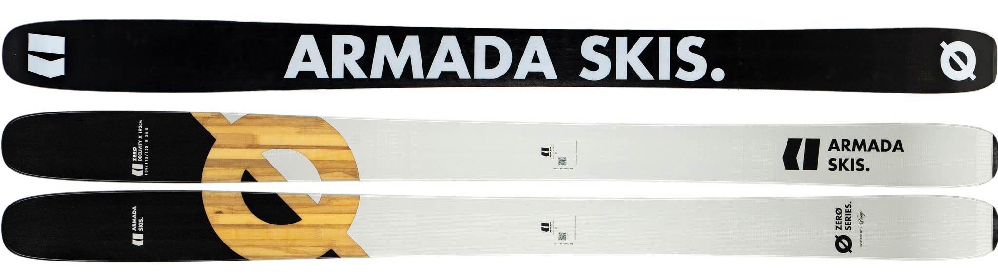 Armada Skis 2019/2020 - Zero Declivity X: Topsheet und Base