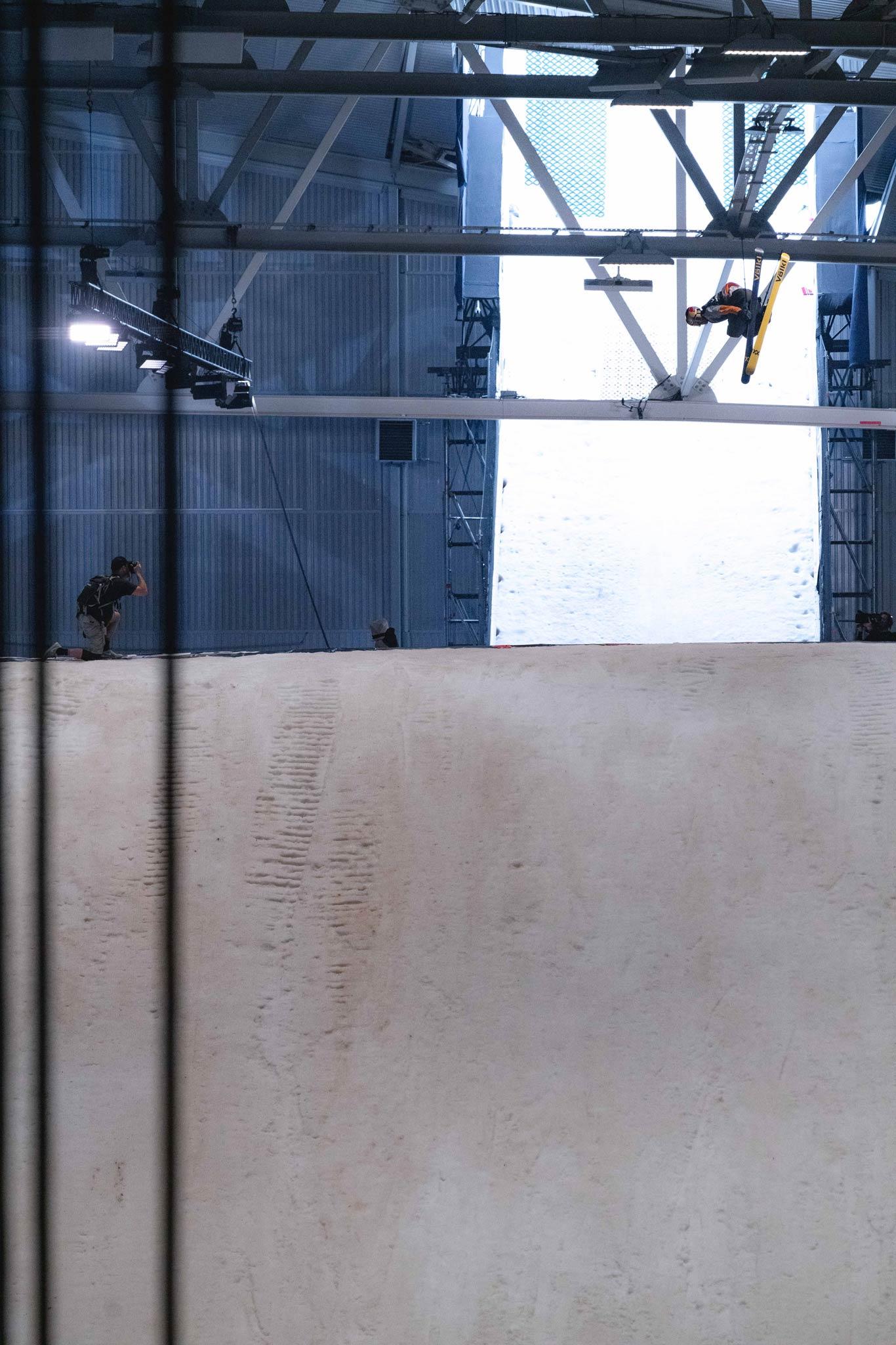 Der Norweger Oystein Braten kam nicht über die Qualifikation der Männer hinaus. Bei den Frauen ging es direkt ins Finale ohne Elimination Round. - Foto: Jürgen Nigg