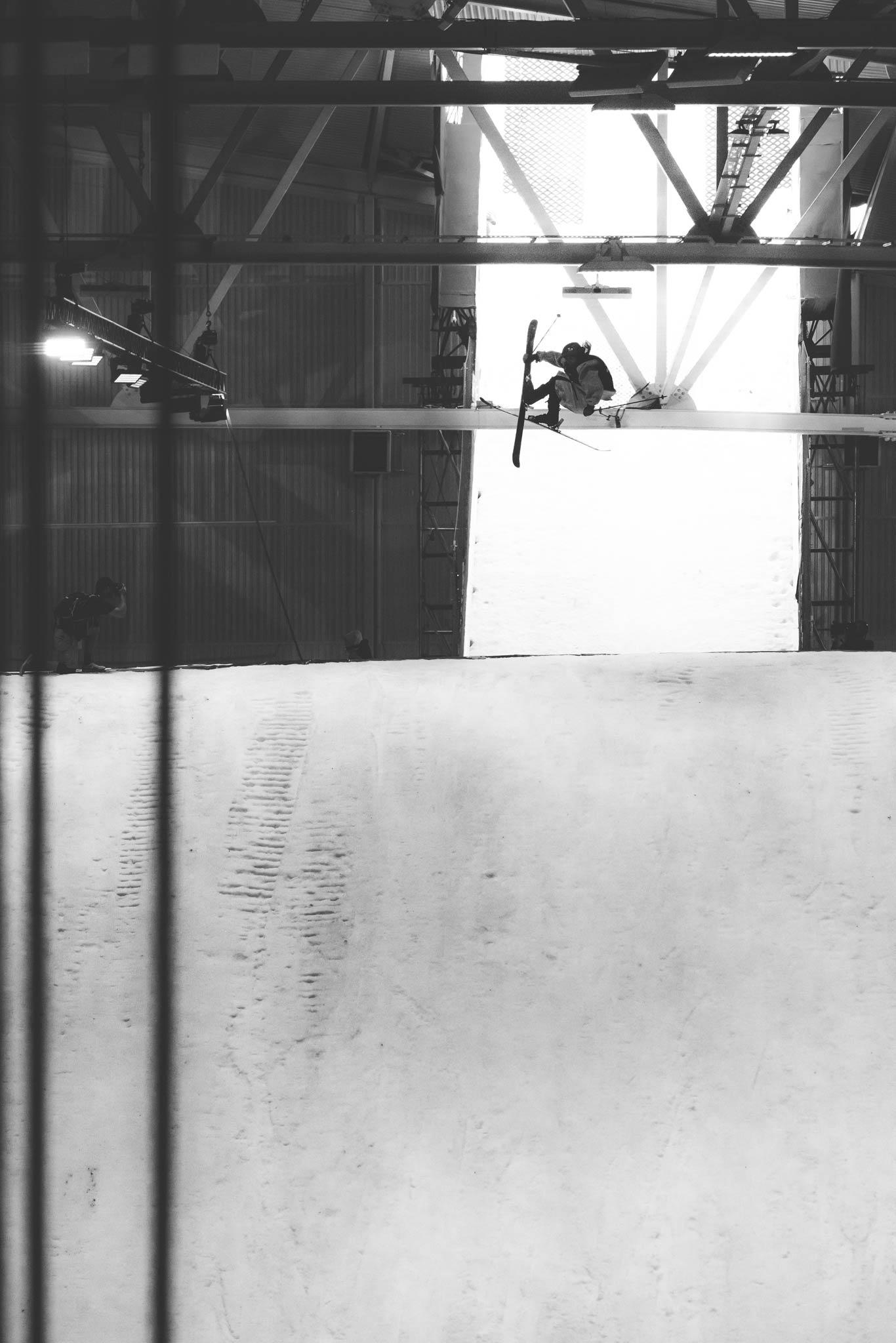 Der Zweitplatzierte Henrik Harlaut aus Schweden trat in kurzen Shorts an. - Foto: Jürgen Nigg