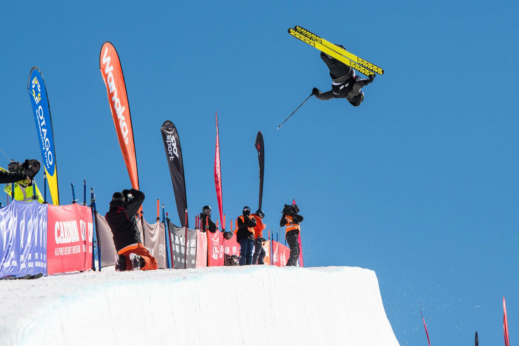 Der Gewinner bei den Männern: Birk Irving aus den USA - Foto: FIS Freestyle / Jason Kerr