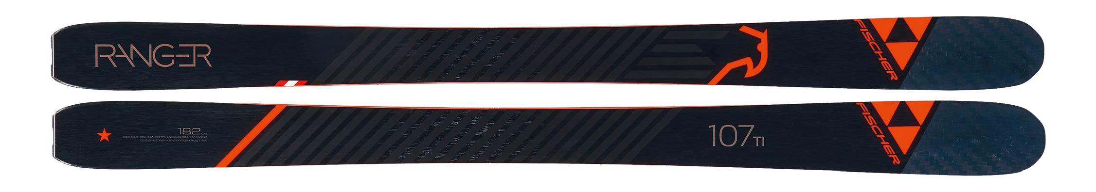 Fischer Ranger 107 TI - Topsheet