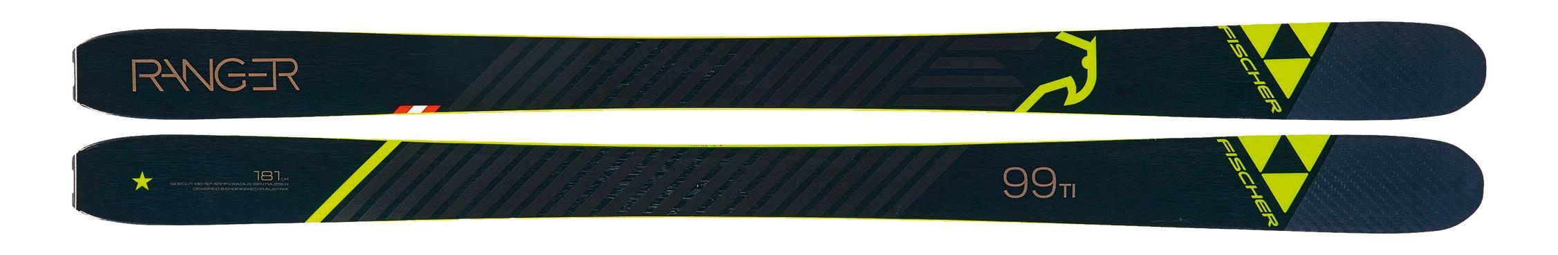 Fischer Ranger 99 TI - Topsheeet
