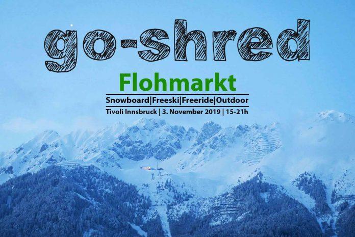 Der große go-shred Flohmarkt 2019 in Innsbruck ist zurück!