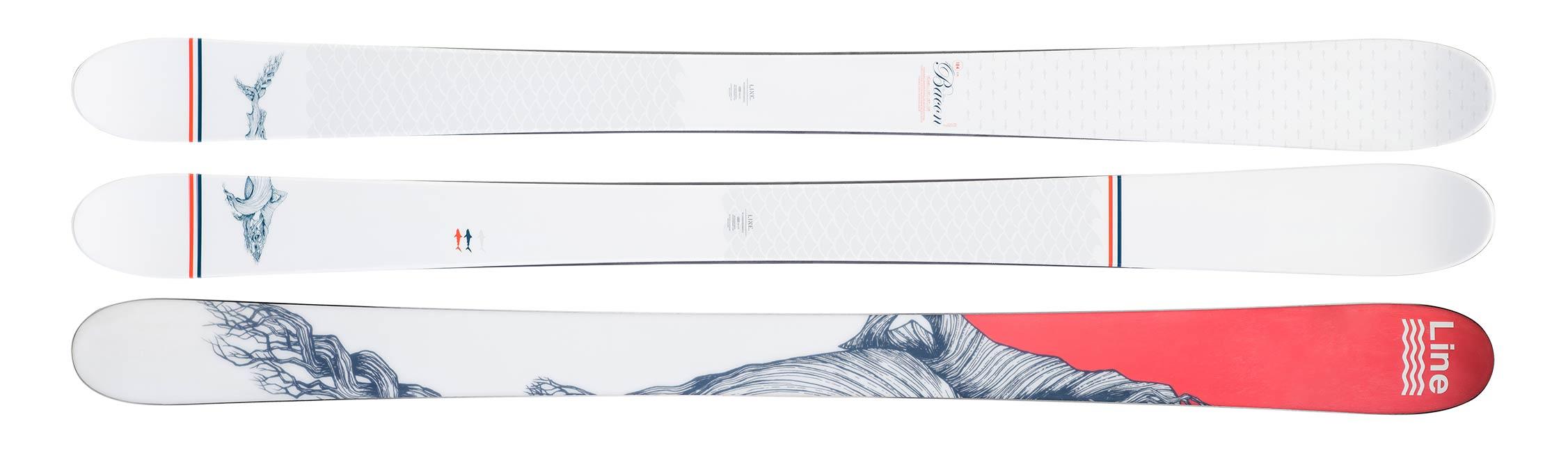 Line Skis Sir Francis Bacon: Topsheet & Base