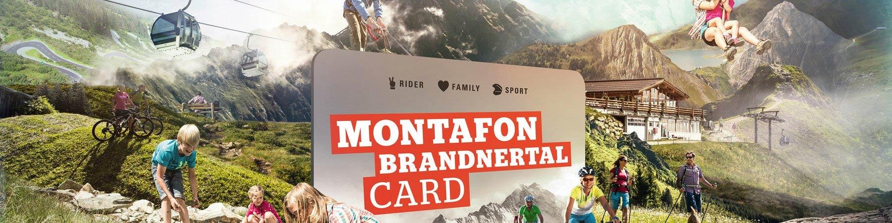 Montafon Brandnertal Card 2019/2020