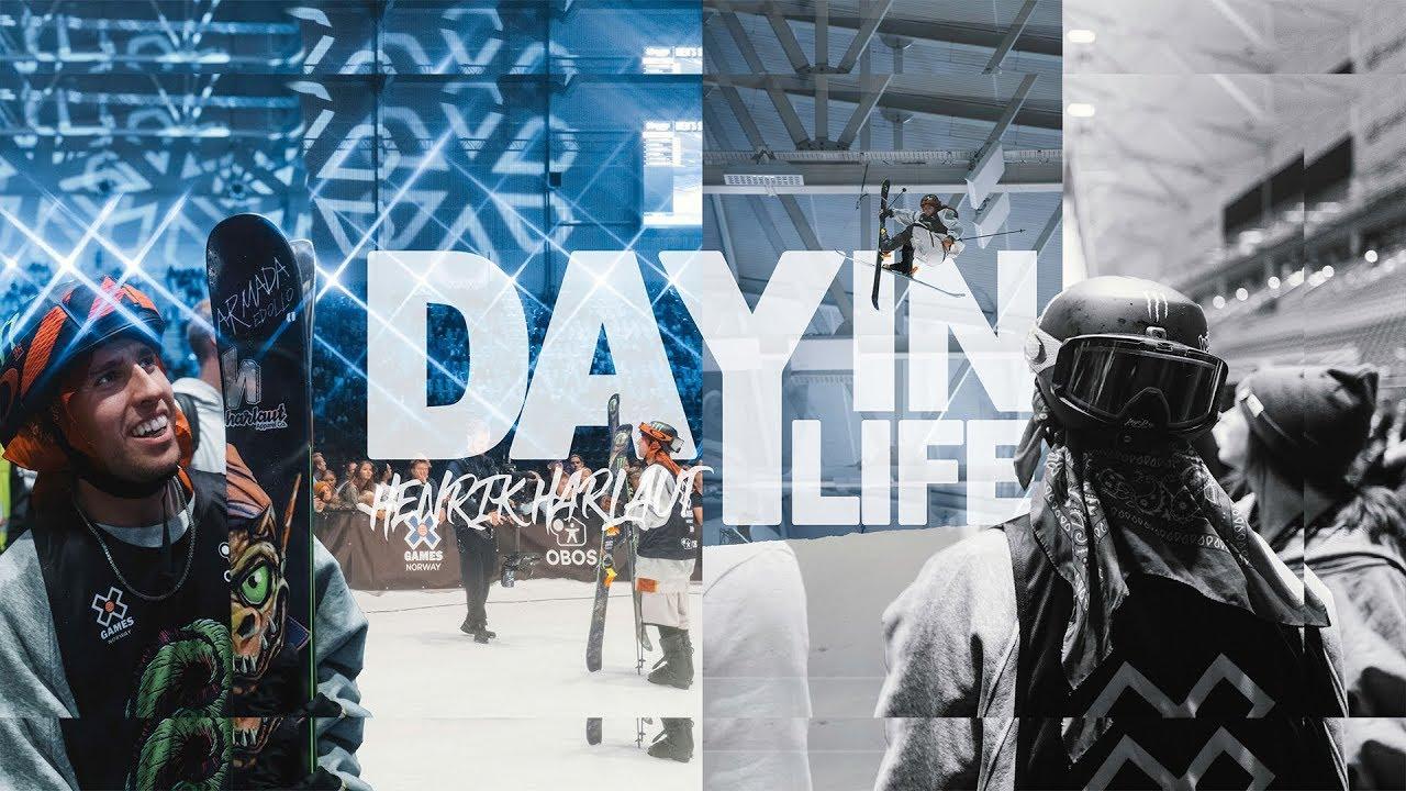 """""""Day In Life"""" bei den X Games Oslo 2019 mit Henrik Harlaut"""