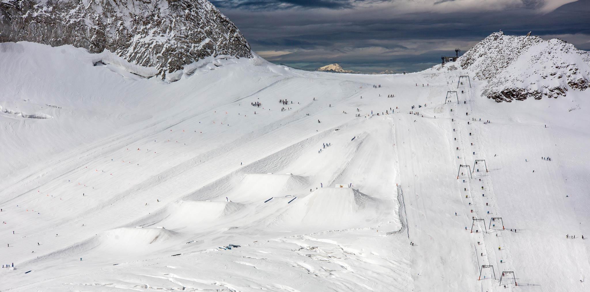 Der betterpark Hintertux in der Übersicht - Foto: MonEpic