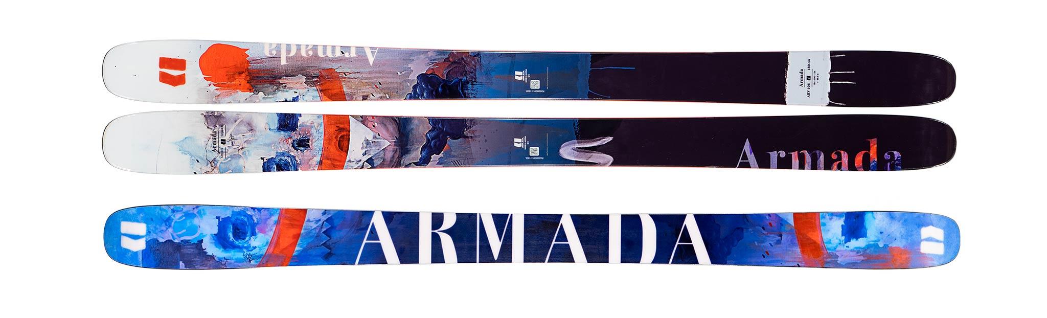"Kaufberatung Freestyle Ski 2019/2020: Armada ""ARV 106"": Topsheet & Base"