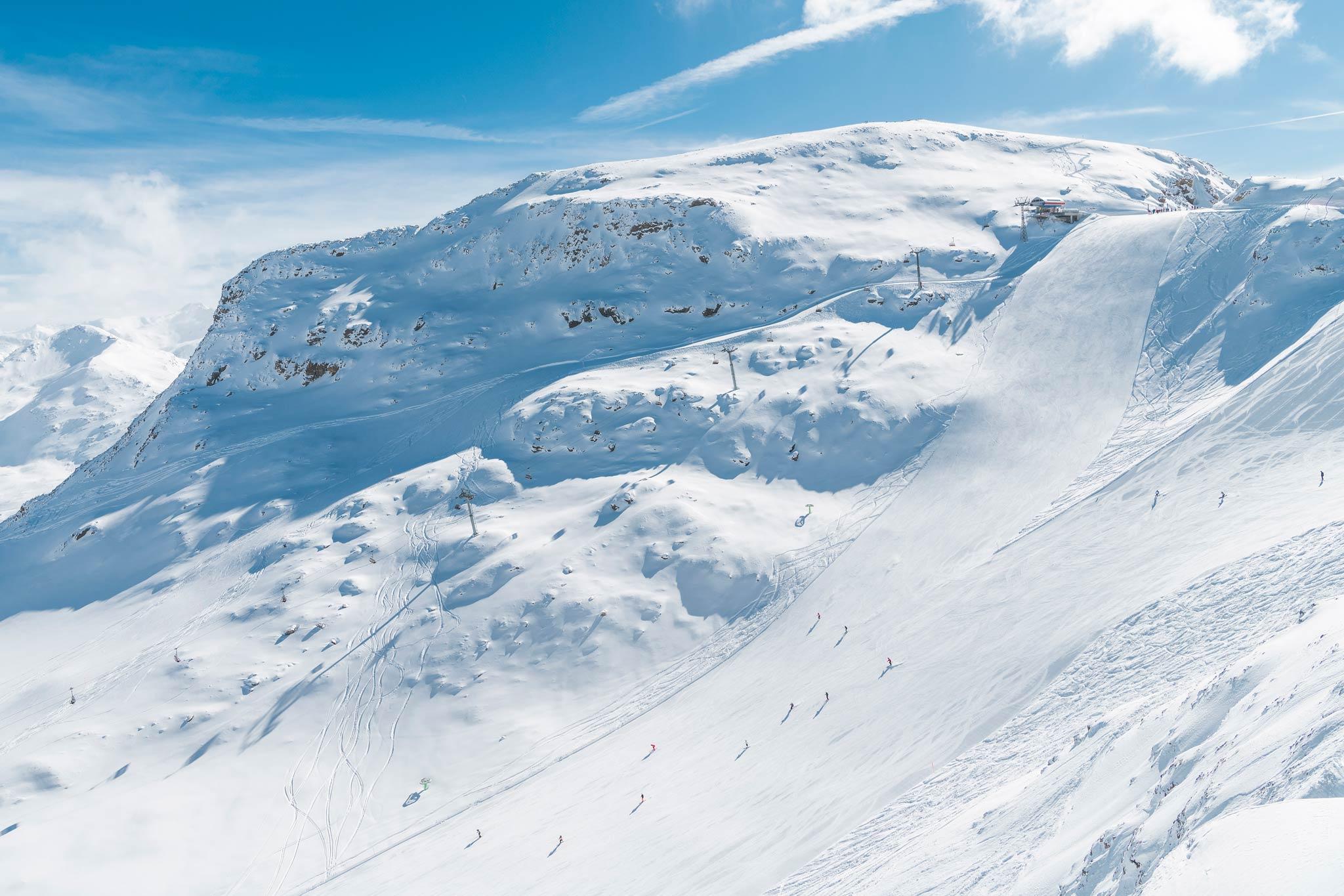 So traumhaft kann es in der Schweiz bei guten Bedingungen aussehen! - Foto: Romano Salis