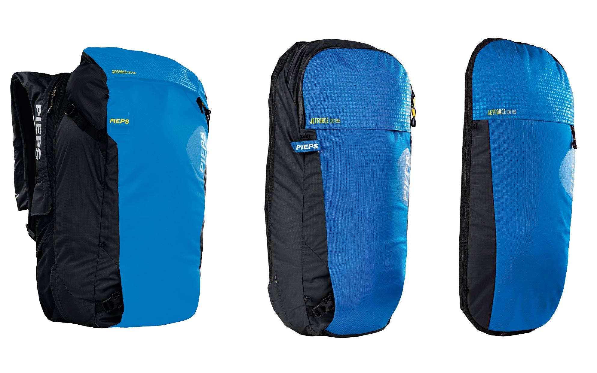 """""""Jetforce BT"""" mit einem 35-Liter-Packsack. Die unterschiedlichen Zip-ons können auch separat gekauft werden."""