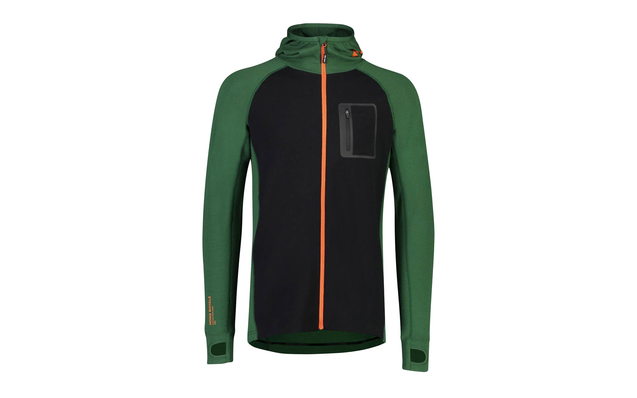 Mons Royale 2019/2020 - Traverse Midi Full Zip Hood