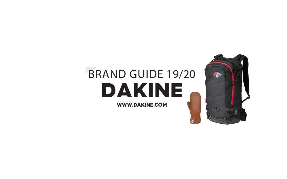 Dakine 2019/2020: Rucksack- und Handschuh-Highlights in der Übersicht