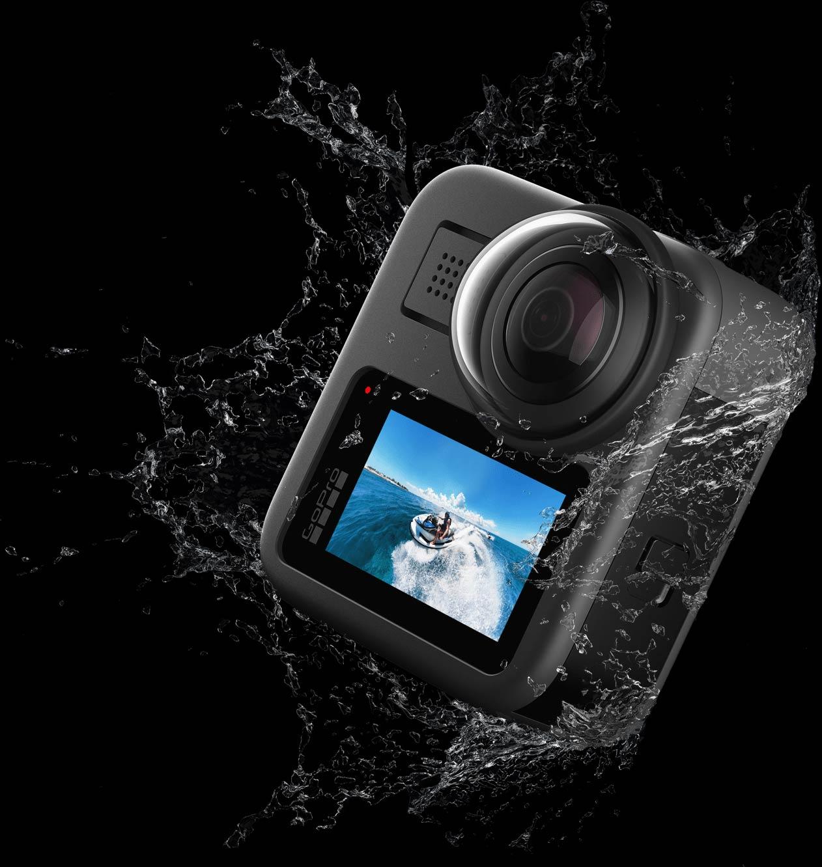 Die GoPro MAX: wasserdicht bis 5 Meter