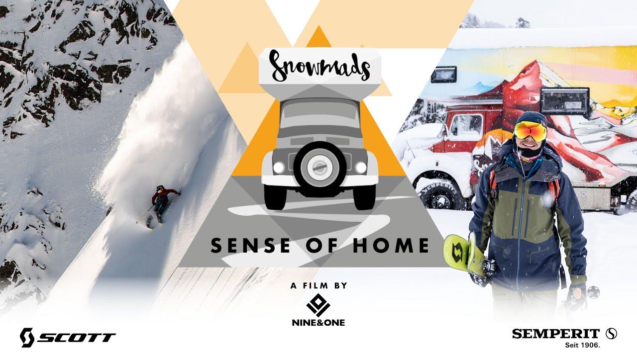 """Sense of Home"" Teaser – 2019 – Snowmads"
