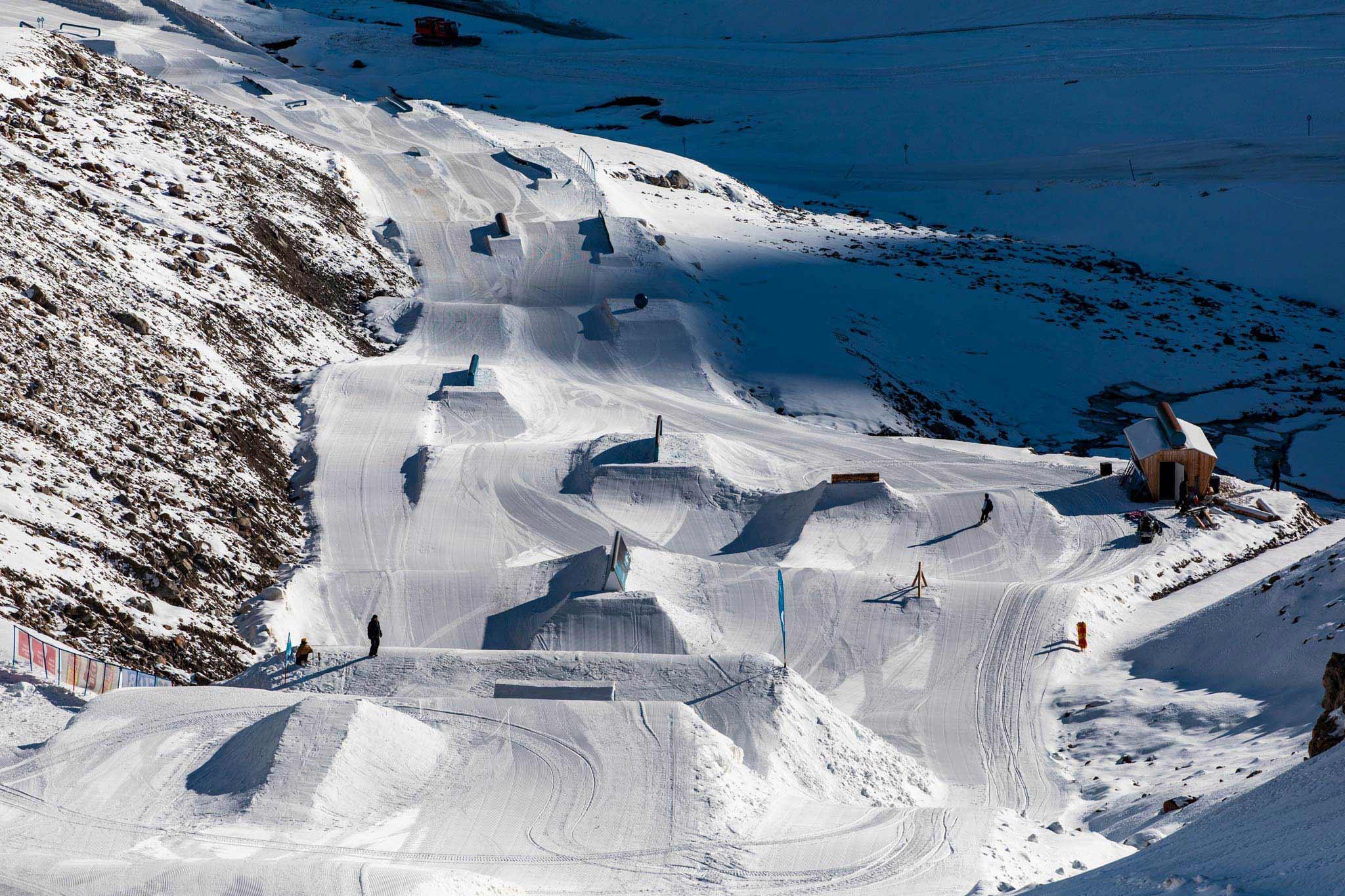 Ab sofort bis Anfang Dezember geöffnet: Der Snowpark Kaunertal! - Foto: Felix Pirker
