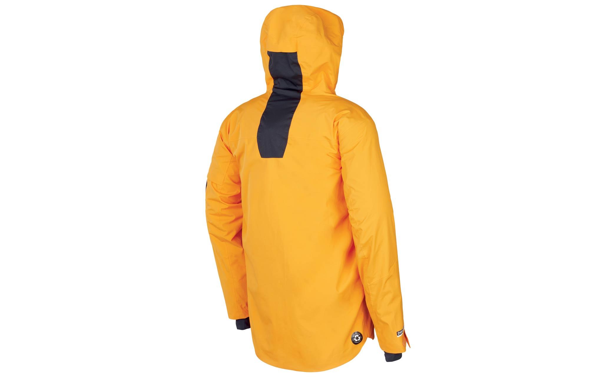 Picture Organic Clothing Zephir JKT: Der längere Schnitt rundet die High-End-Jacke als verlässlichen Partner in allen Freeride-Lebenslagen ab.