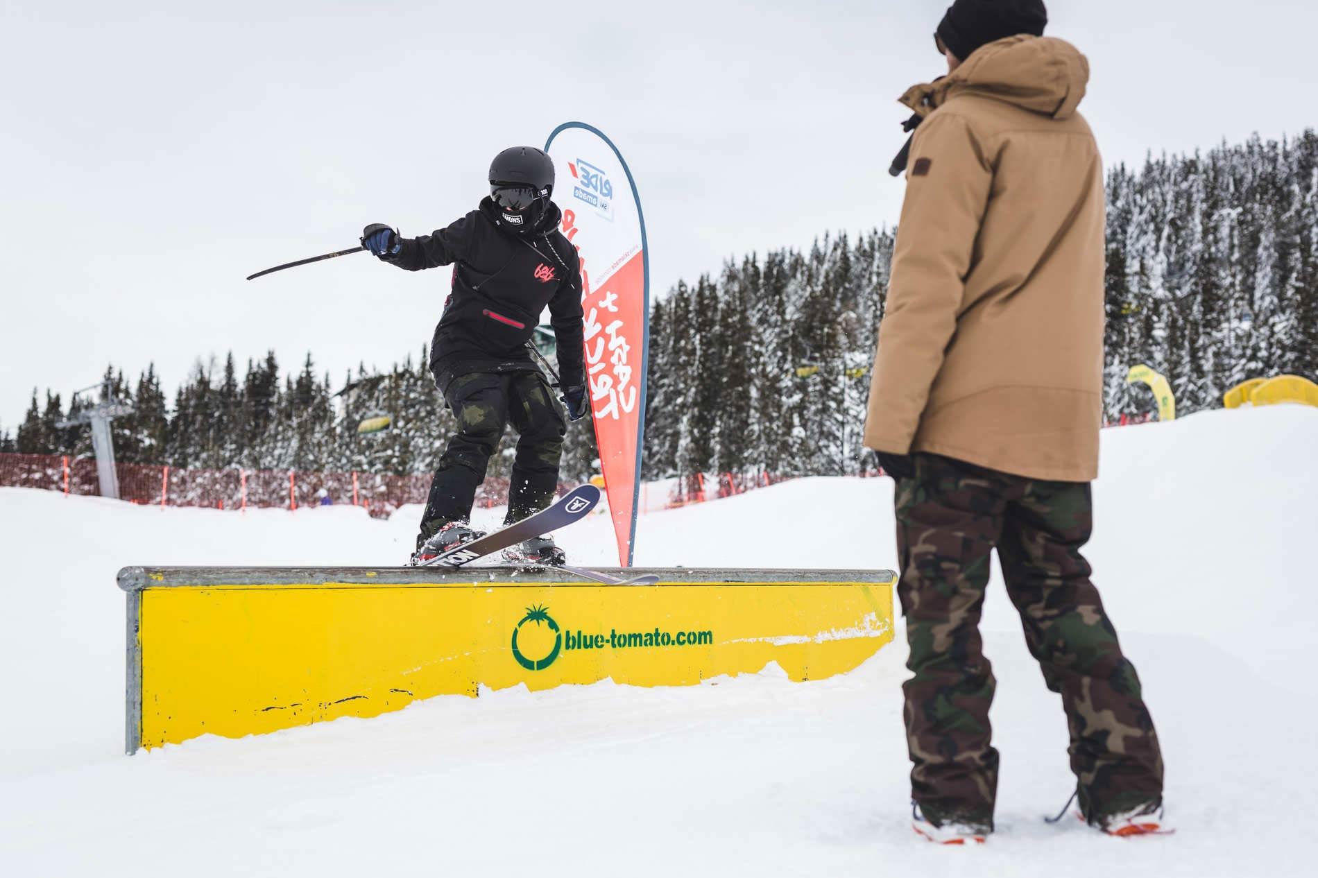 """Bei der Ride Ski amadé """"Cash 4 Tricks Tour 2020"""" ist jeder willkommen - egal ob auf Skiern oder auf dem Snowboard - Foto: Hannes Mautner"""