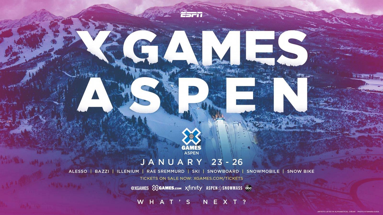 Winter X Games Aspen 2020 @ Aspen, Colorado