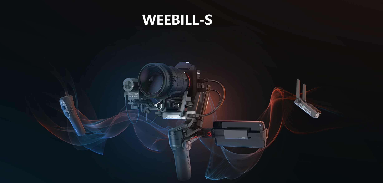 Zhiyun stellt kompakten Gimbal Weebill-S vor
