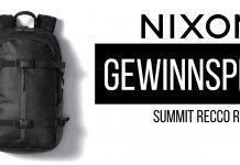 Gewinnspiel: NIXON Summit Recco Rucksack