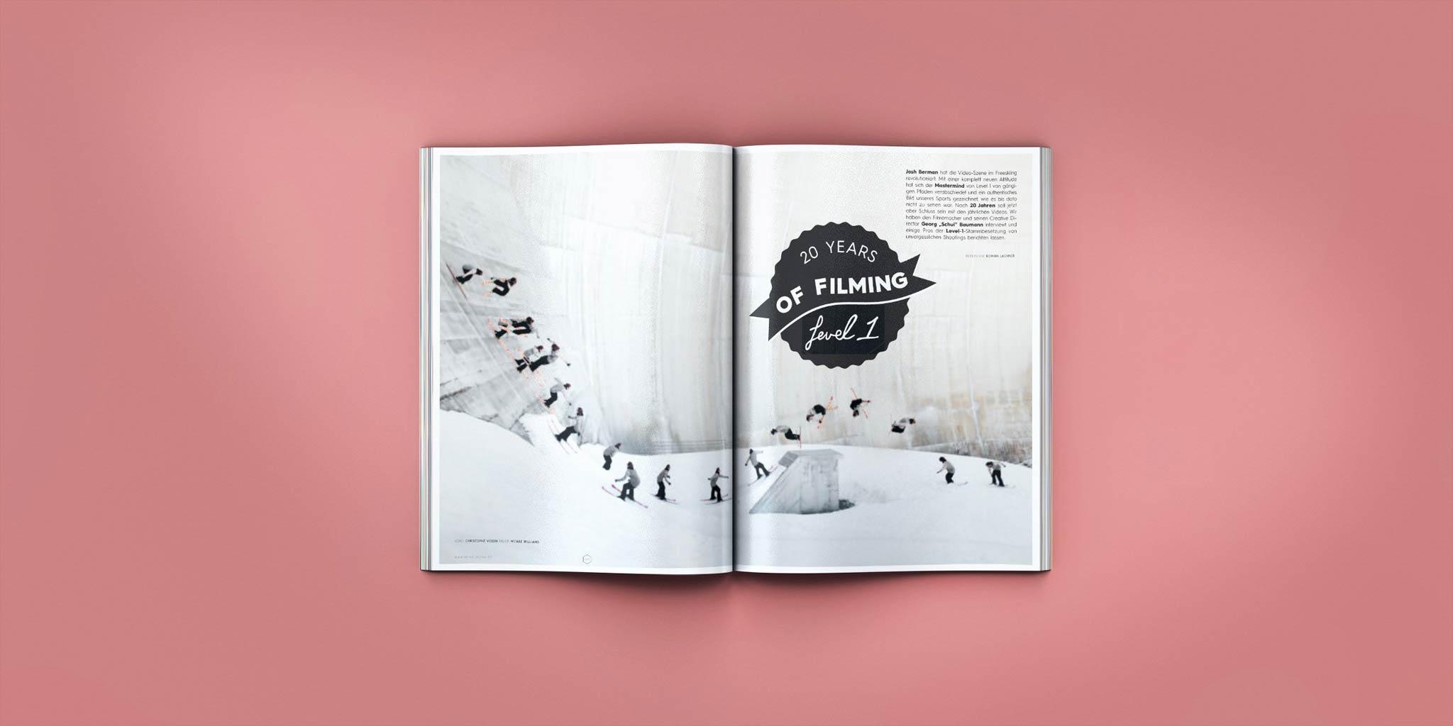 20 Jahre Level 1 - PRIME Skiing #23 – Jetzt am Kiosk!