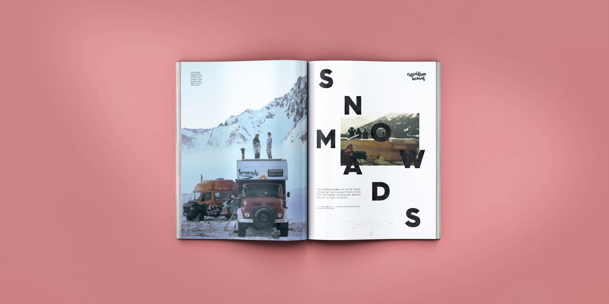 Snowmads in Österreich - PRIME Skiing #23 – Jetzt am Kiosk!