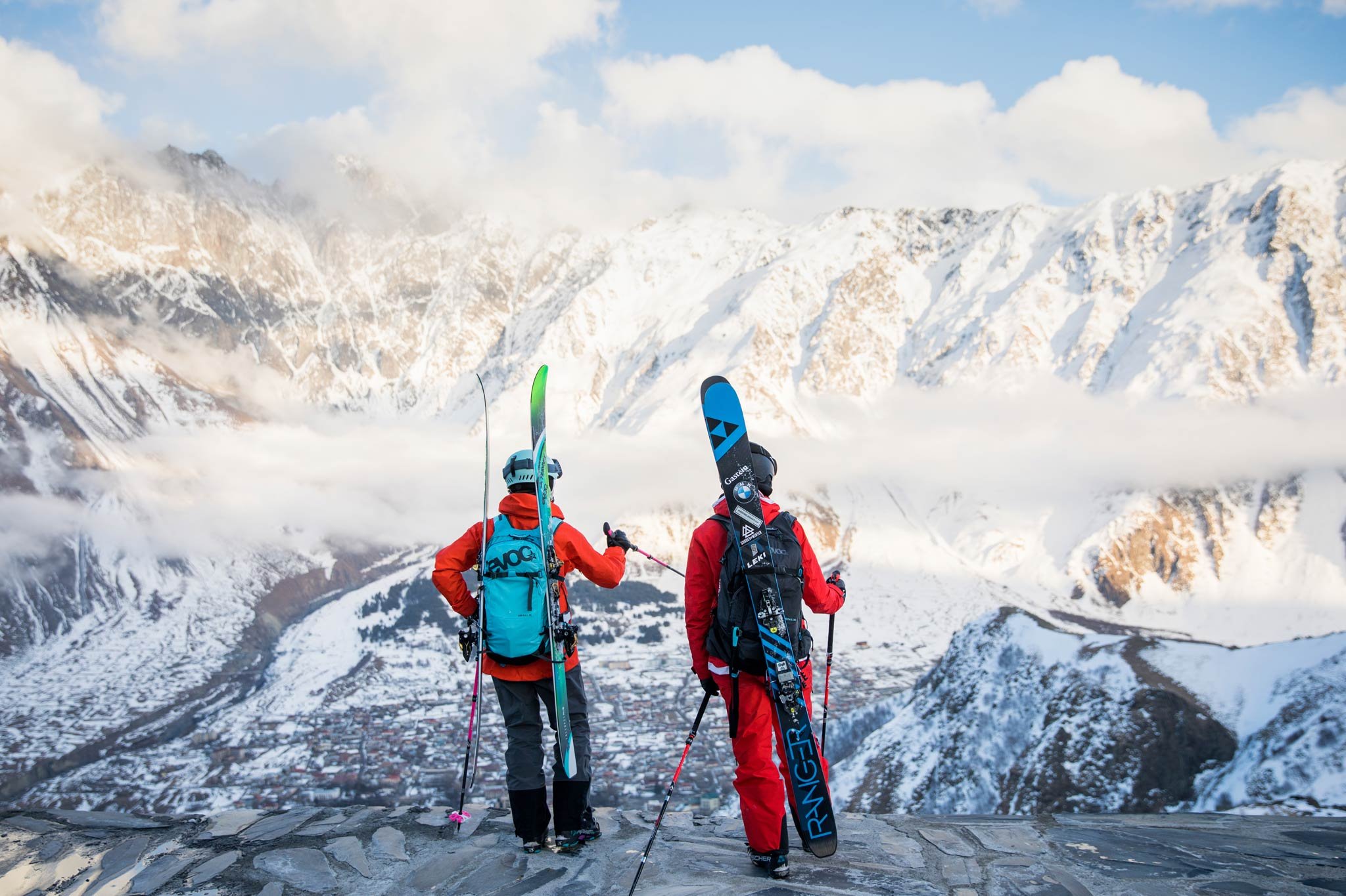 Neu ist Georgien als Ski-Destination nicht mehr, ein persönlich ziemlich einzigartiger Trip bleibt es trotzdem. - Foto: Thomas Marzusch