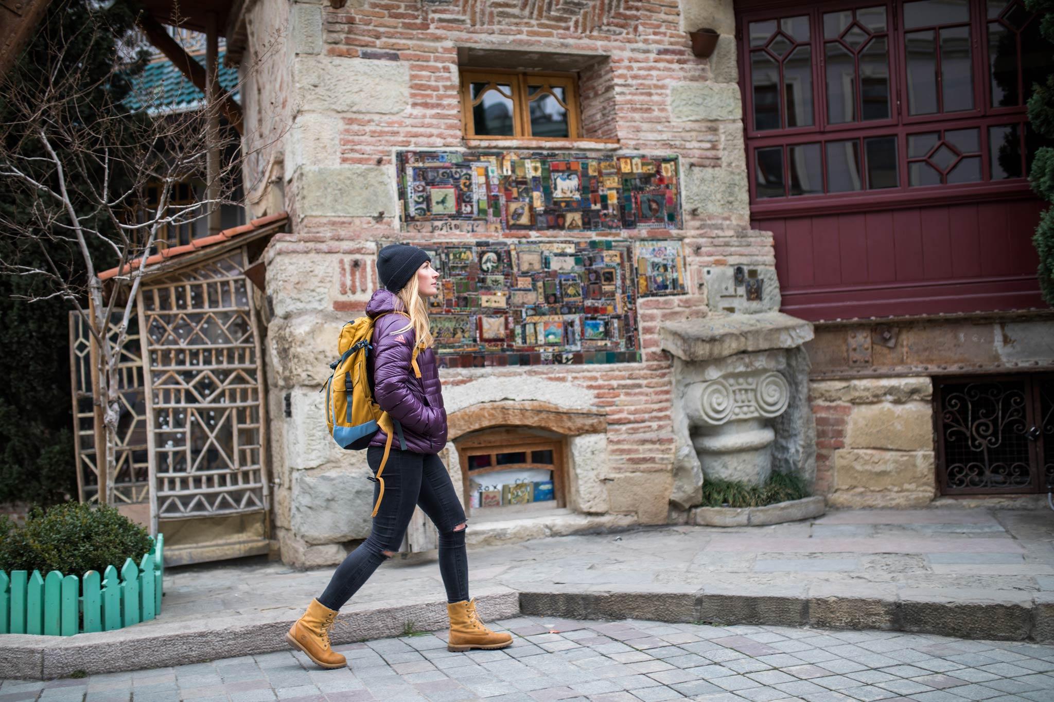 Neben dem Skifahren interessierten sich Caja und Sandra auch für die Kultur in Georgien. Land und Leute hat sie überzeugt und vor allem die Hauptstadt Tiflis hat es ihnen besonders angetan. - Foto: Thomas Marzusch