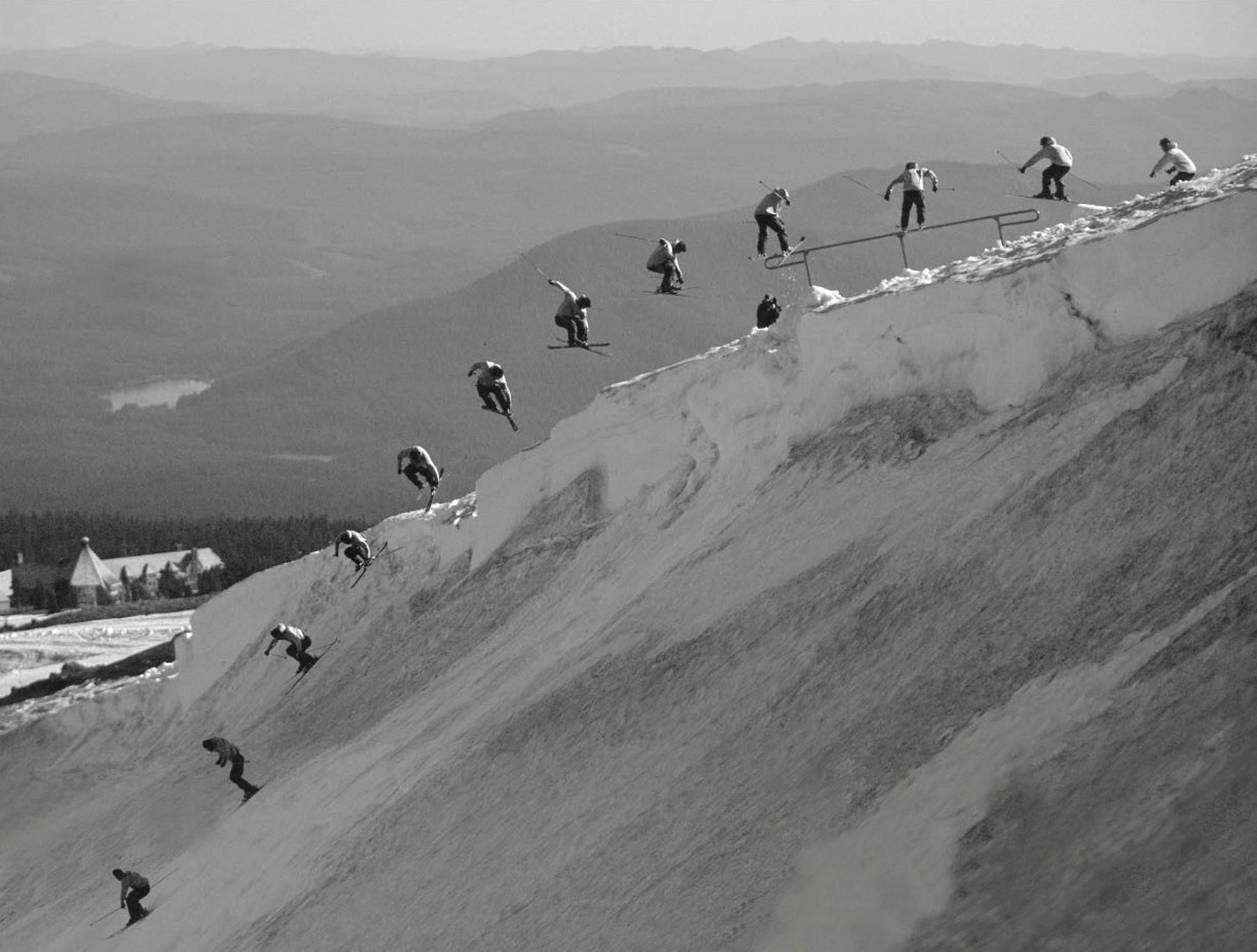 Aus dem Archiv von Matt Levinthal: EP am Mt. Hood, Oregon.