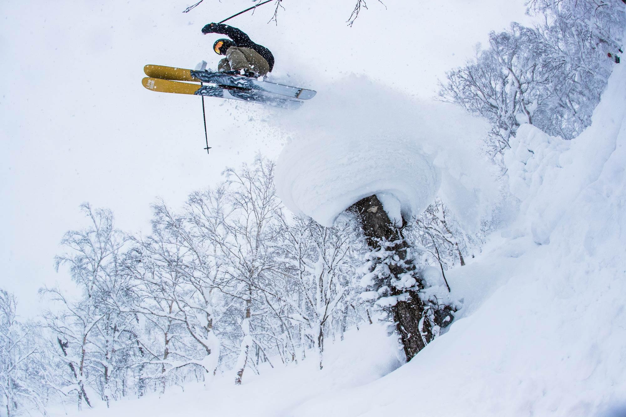 Auch beim Skifahren überzeugt uns EP jedes Mal aufs Neue! - Foto: Alister Buckingham