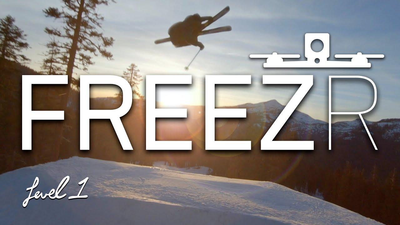 """FREEZR"" – Freeskiing meets FPV Race Drohnen"