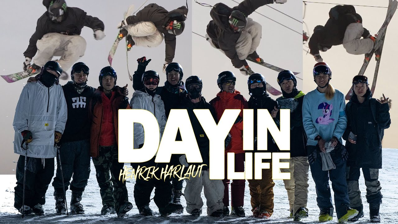 """Day In Life"" beim Air & Style Contest in China mit Henrik Harlaut"