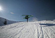 """Blended"" - Sampo Vallotton im Snowpark LAAX"
