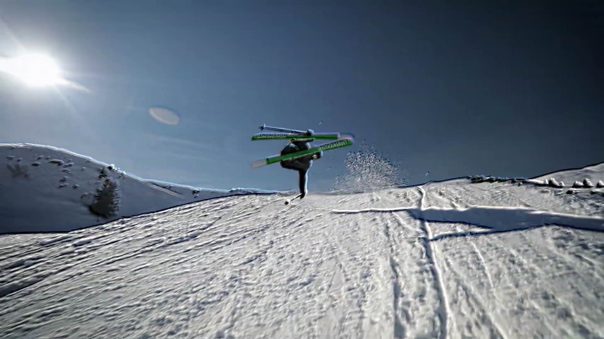 """Blended"" – Sampo Vallotton im Snowpark LAAX"