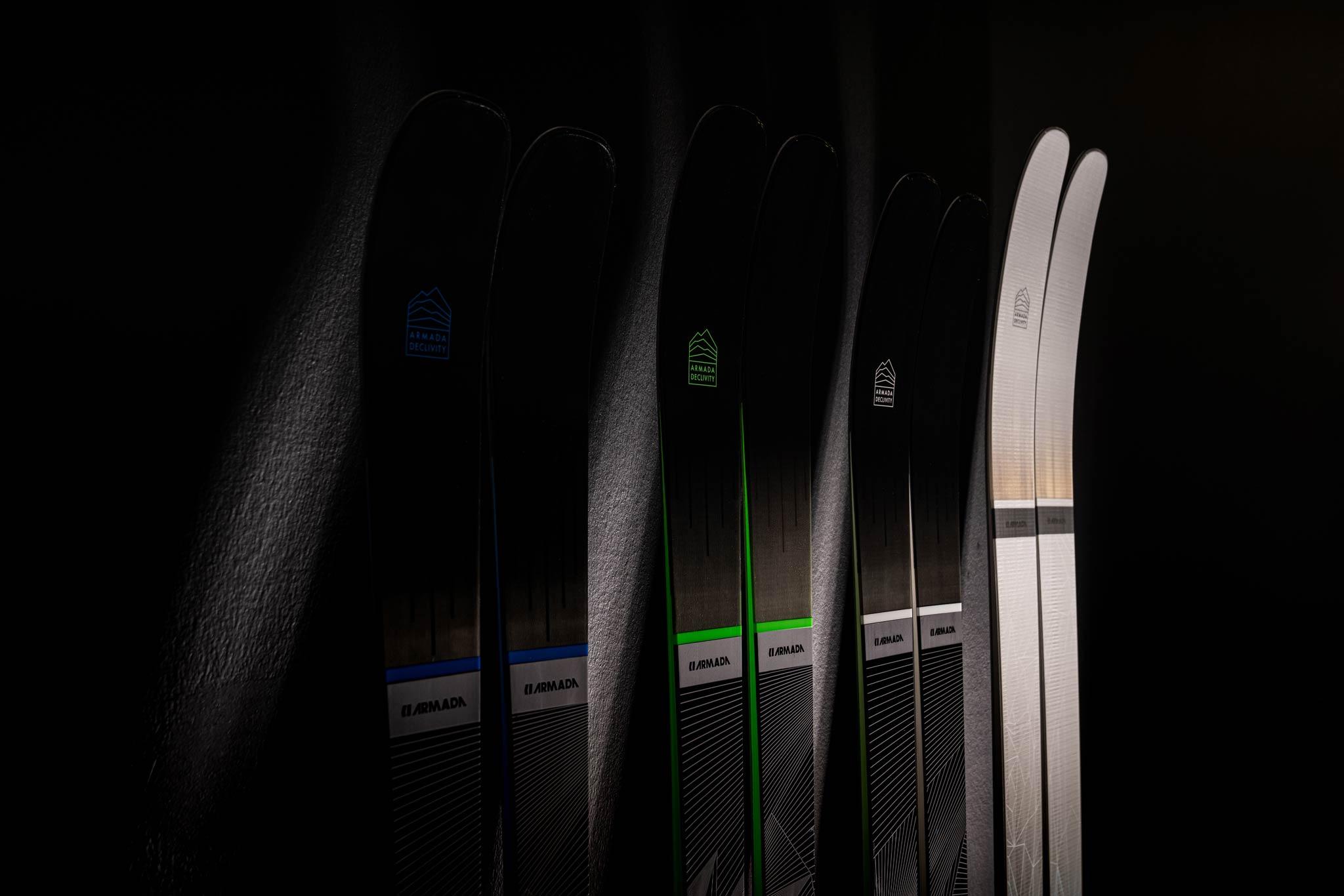 """Armada Skis hat mit der """"The Declivity"""" Serie neue All-Mountain Modelle für die Piste vorgestellt."""